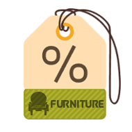 Furniture Product Discounts Label