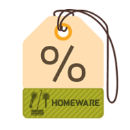 Homeware Product Discounts